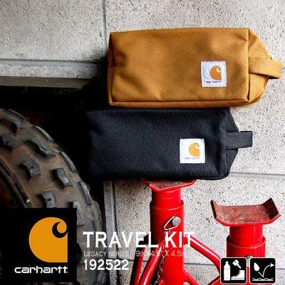 全新 Carhartt Travel Kit, 旅行包/化妝包/大工具包, 網路最低價出清美國網站購買,現貨咖啡色一只