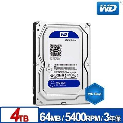 【鴻霖-硬碟】WD40EZRZ 藍標 4TB 3.5吋SATA硬碟/3y