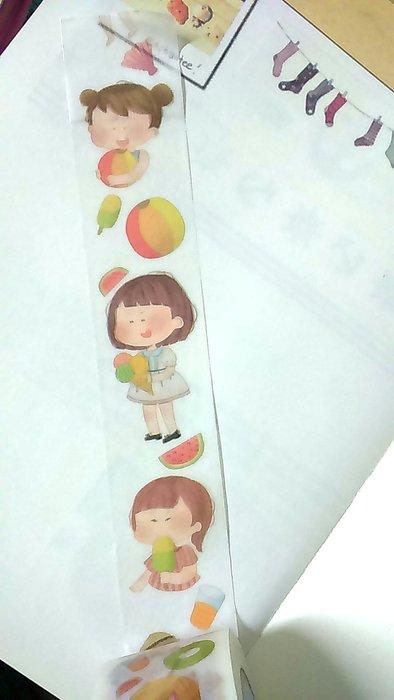 【R的雜貨舖】紙膠帶分裝 原創 清涼夏日