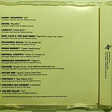 英國MUTE唱片1992原廠CD宣傳試聽片。Depeche Mode Erasure Laibach Nick Cave