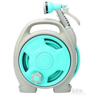 澆花神器便攜水管車洗車水槍噴頭軟管高壓水搶家用園藝收納架套裝