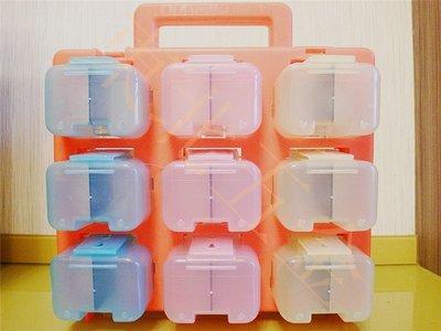 附發票 [東北五金] OPT BOX-99 工具箱.收納盒.零件盒.零件箱.手提工具盒.內附隔板.高品質 18PC(顏色隨機出)