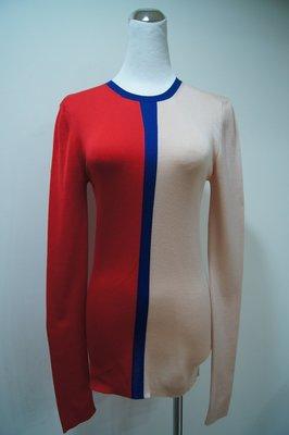 歐洲品牌  Celine  雙色圓領針衣  原價 40700    優惠價  6000
