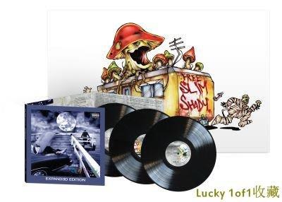 Lucky 1of1收藏Eminem The Slim Shady 20周年 豪華版 3LP 黑膠