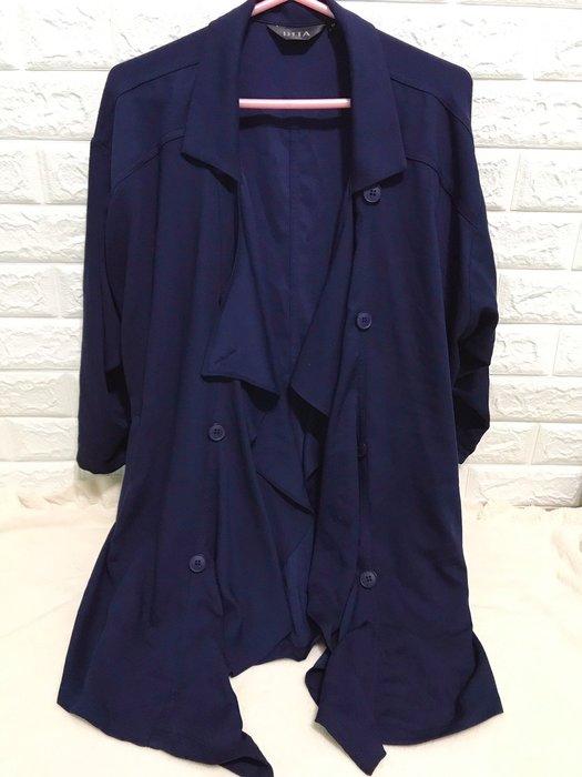 百貨公司DITA專櫃 薄風衣 外套 M號- EEEE 蕾絲網狀長版外套2件優惠1160元