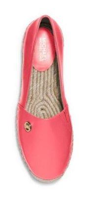 Michael Kors (全新正品) MK Kendrick Leather 皮革休閒鞋(西瓜紅)~特價2580含運