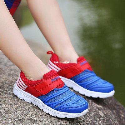 `惗.Study溡光 ABC男童網鞋2020春夏6小白鞋9鏤空8休閒7兒童寶寶10運動12歲13單網361