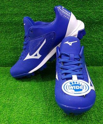 = 威勝 運動用品 = 19年 Mizuno WAVE SELECT NINE 棒、壘球鞋(寬楦) 11GP192272