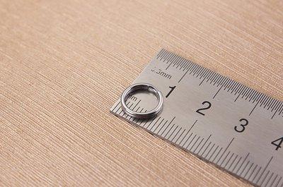 G-002 圓款 (10mm) DIY配件 圓形鑰匙扣 高品質鑰匙圈 簡約優雅 牢固耐用 攜帶方便 實用新奇