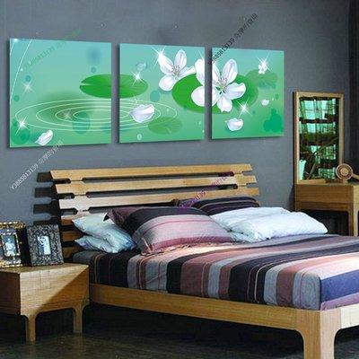 【30*30cm】【厚2.5cm】花卉-無框畫裝飾畫版畫客廳簡約家居餐廳臥室牆壁【280101_335】(1套價格)