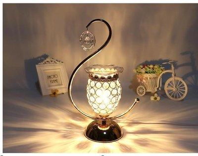 香薰燈精油燈歐式美容院會所浪漫觸摸感應臥室插電家加濕器紋繡燈