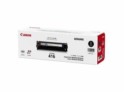 麗康墨盒 Canon Cartridge CRG-416 黑色 Black 全新原裝碳粉盒 香港行貨保養 MF8050