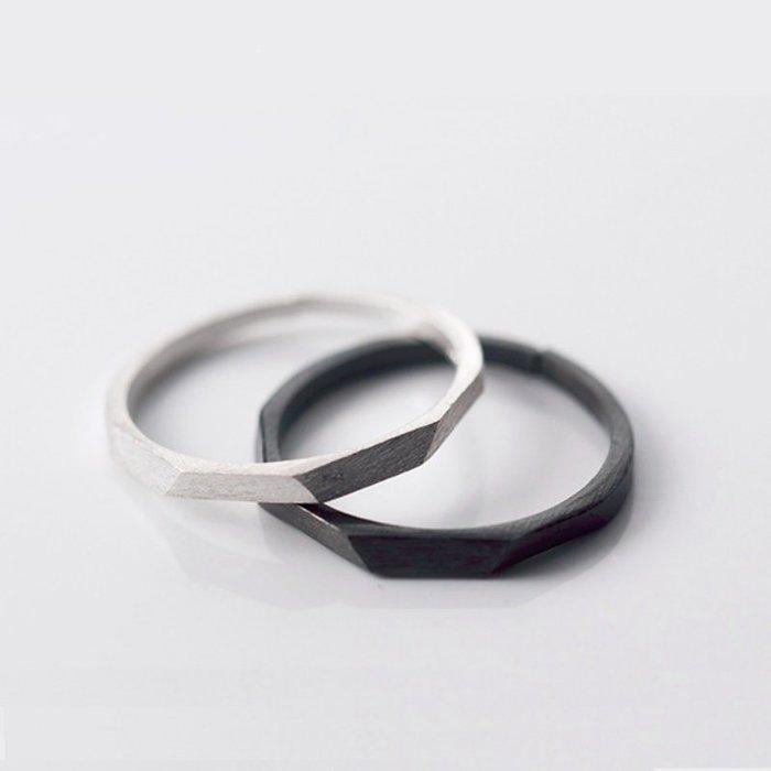 環可調節 925銀 日系簡約設計 男女定情之物  閨密姊妹 節日送禮 飾品女生配件 手飾 防過敏 11-17號皆可