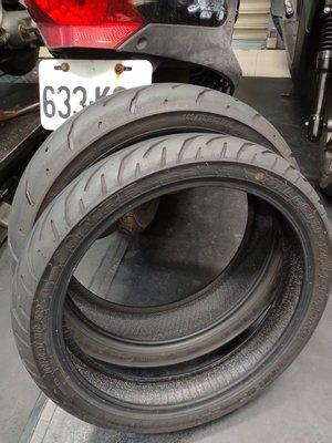 CPI -250 原廠 正新輪胎110 / 80 / 17前輪 ~  130 / 70 / 17 後輪
