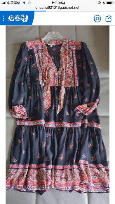 Joie 宮廷絲質洋裝 (teresa chu)