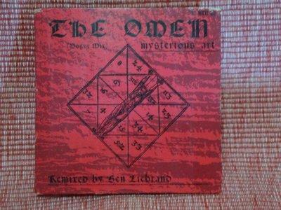2.   MYSTERIOUS  ART -THE  OMEN  -  3吋單曲  CBS