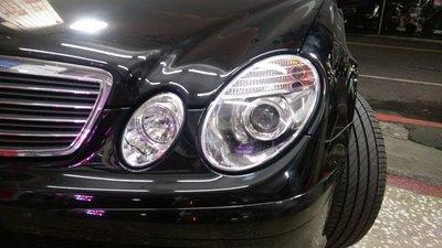 新店【阿勇的 店】BENZ W211 02~05 改 06~09後期 燈泡版 晶鑽魚眼大燈 W211 大燈 son