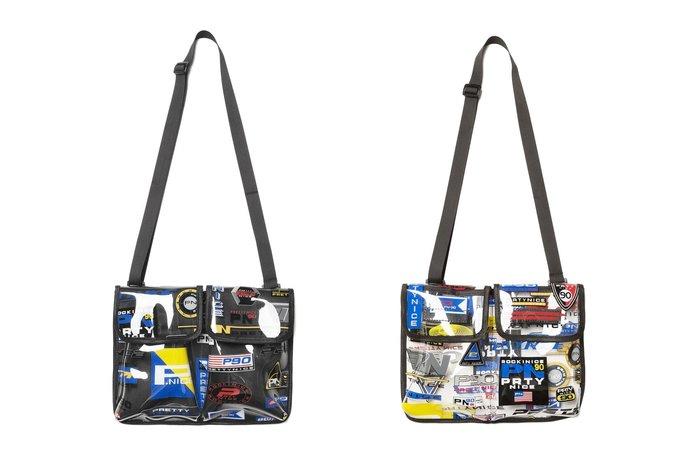 { POISON } PRETTYNICE P.NICE SPORT SHOULDER BAG 滿版圖像透明小物包隨身包