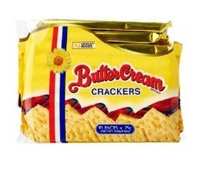 菲律賓 CroleyFoods Butter Cream crackers 奶油餅乾/1包/25x10g