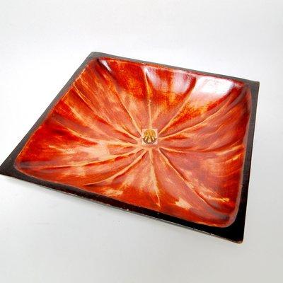 泰國手工多用途木盤水果盤 四方型DSC01966