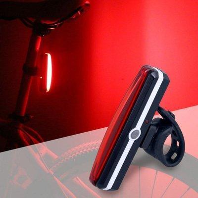 △GOGO露△ 現貨🔥 自行車USB充電車尾燈 腳踏車燈 LED 紅光 警示燈 閃爍燈 後燈 爆閃燈 登山 夜騎 車燈