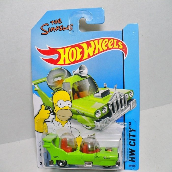(I LOVE樂多)辛普森家族Simpson 荷馬 HomerX風火輪Hot Wheel