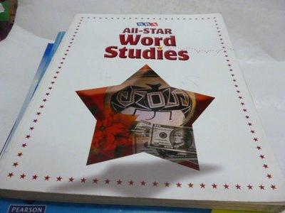 買滿500免運--《All-STAR Word Studies》