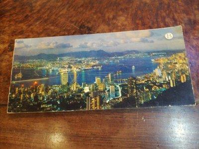 早期香港夜景明信片册
