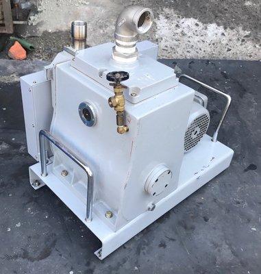日本丸山真空油式真空幫浦CP-600(1HP/單相110V/220V兩用機)-抽冷媒、翻模、真空脫泡可用