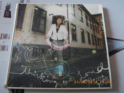 *日版CD-- BONNIE PINK-- Thinking Out Loud 初回限定盤 ( CD+DVD紙盒版)