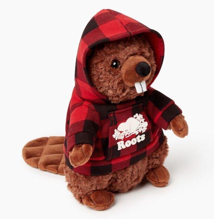 ~☆.•°莎莎~*~~☆~加拿大 ROOTS Beaver Stuffie 海狸娃娃 ~限量現貨