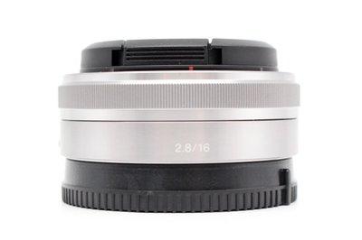 【青蘋果3C】SONY E 16mm f2.8 定焦鏡 二手鏡頭 E-Mount  #28385