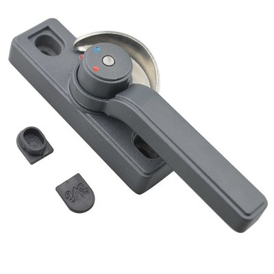 橙子的店  迪福德 鋁合金窗鎖保險月牙鎖雙向可調左右推拉塑鋼門窗防盜鎖扣