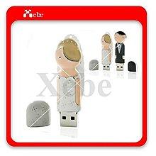 婚禮小物 新娘造型16G隨身碟 - 造型隨身碟 結婚禮物 創意商品 禮品