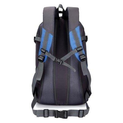 千家居∏戶外旅行後背背包男女45l 25l大容量輕便徒步野營防水登山包