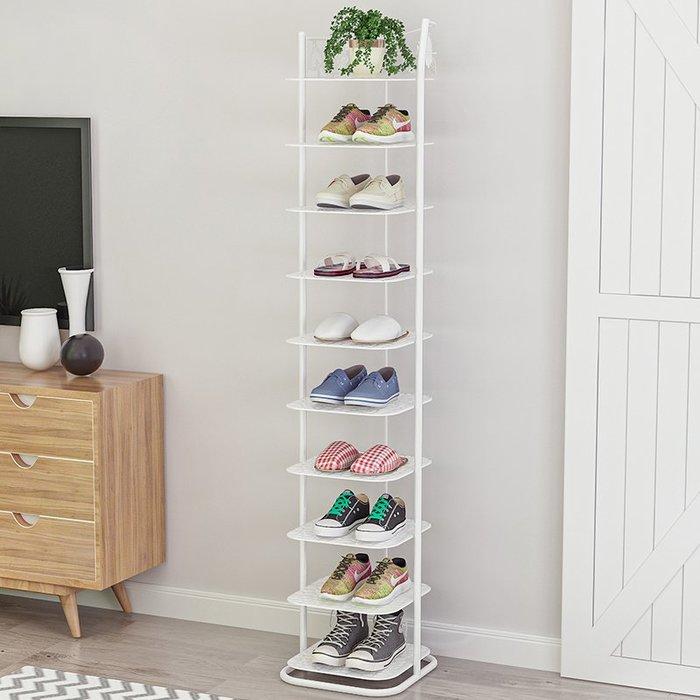 鞋櫃簡易鞋架家用鐵藝多層經濟型省空間宿舍小鞋柜門口防塵收納架子