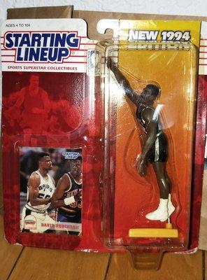 [小邱滴公仔鋪 ]NBA STARTING LINEUP 1994 馬刺 海軍上將 DAVID ROBINSON 公仔 降價嘍