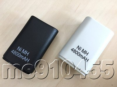 XBOX360 手把電池 充電電池 xbox360 手柄電池 XBOX 360 手把 電池 白色 黑色 裸裝款 有現貨