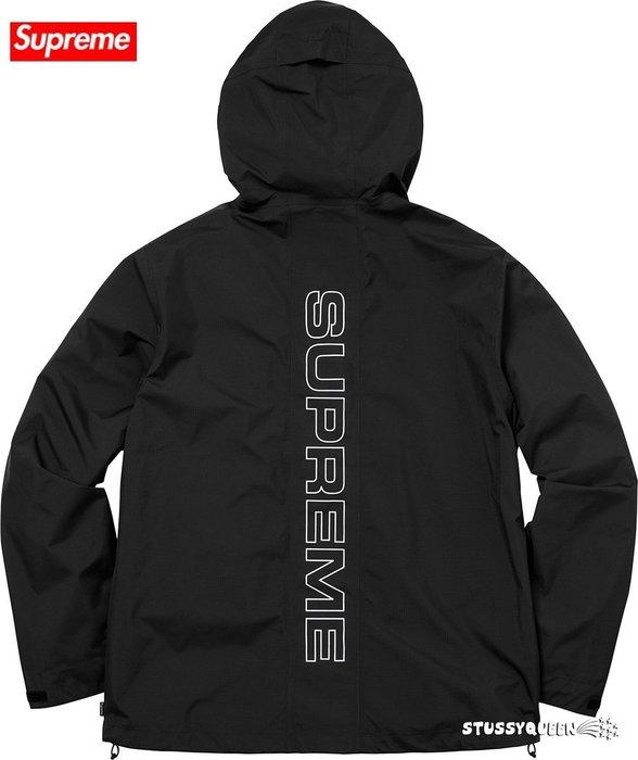 【超搶手】全新正品 2018 SS Supreme Taped Seam Jacket 連帽外套 風衣防風機能外套S M