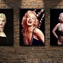 現代裝飾畫復古懷舊黑白老照片勵志瑪麗蓮夢露