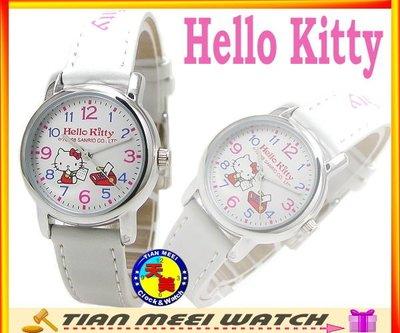 【全新原廠公司貨】【天美鐘錶店家直營】【下殺↘超低價有保固】日本Hello Kitty錶-LK570L白