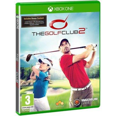 全新未拆 XBOX ONE 高爾夫俱樂部2 首日版(含5項內容之2大DLC) -英文版- The Golf Club 2