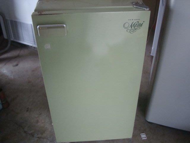 高雄屏東萬丹電器醫生 中古二手 三洋經典單門冰箱 80公升 自取價4999