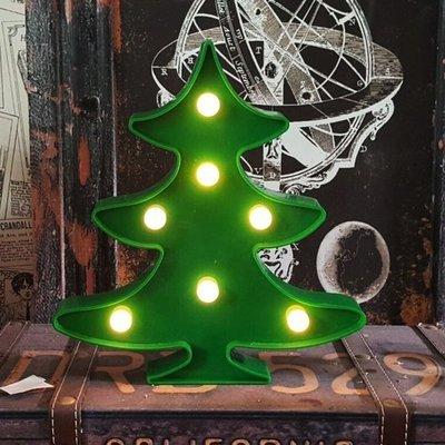 都會摩登可愛燈飾雲朵 5角星星 聖誕樹 仙人掌 椰子樹 獨角獸 火鶴 鳳梨電子LED燈牌 動物植物夜燈燈排 家居溫暖療癒