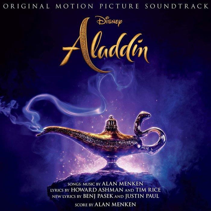 正版CD迪士尼電影原聲帶《阿拉丁》 /Aladdin全新未拆