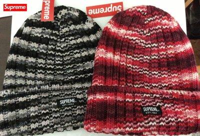【超搶手】全新正品 2014 AW 秋冬 Supreme Scatter Knit Beanie 針織毛線帽 反摺毛帽