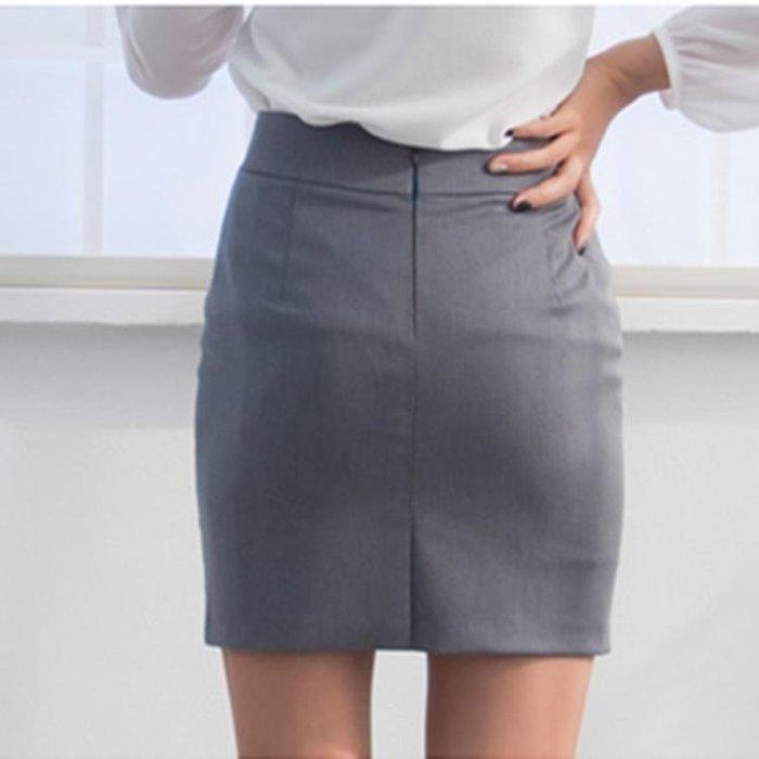 短裙春夏職業工裝裙短裙 簡約一步裙 修身西裝裙女ol半身裙包裙正裝裙『左鄰右裏 』(可開立發票)