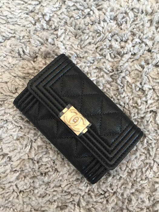 Chanel  Boy card case