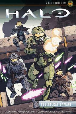 【布魯樂】《代訂中》[美版書籍]《最後一戰 Halo》原文漫畫:Collateral Damage