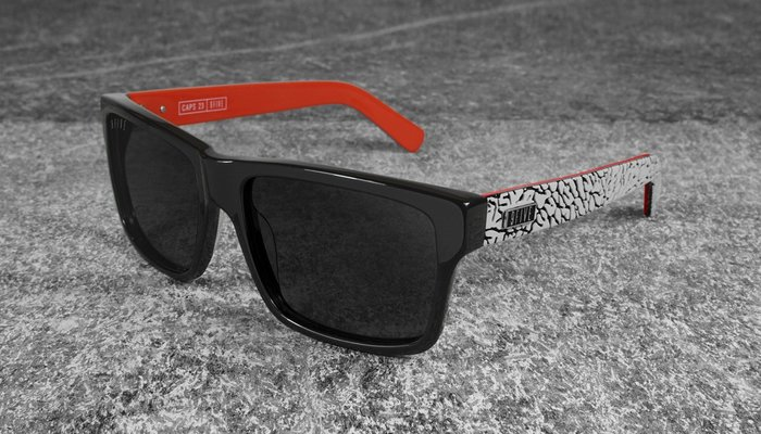 { POISON } 9FIVE 2THREE LTD CAPS 喬丹爆裂紋限定款 美國西岸風格太陽眼鏡品牌